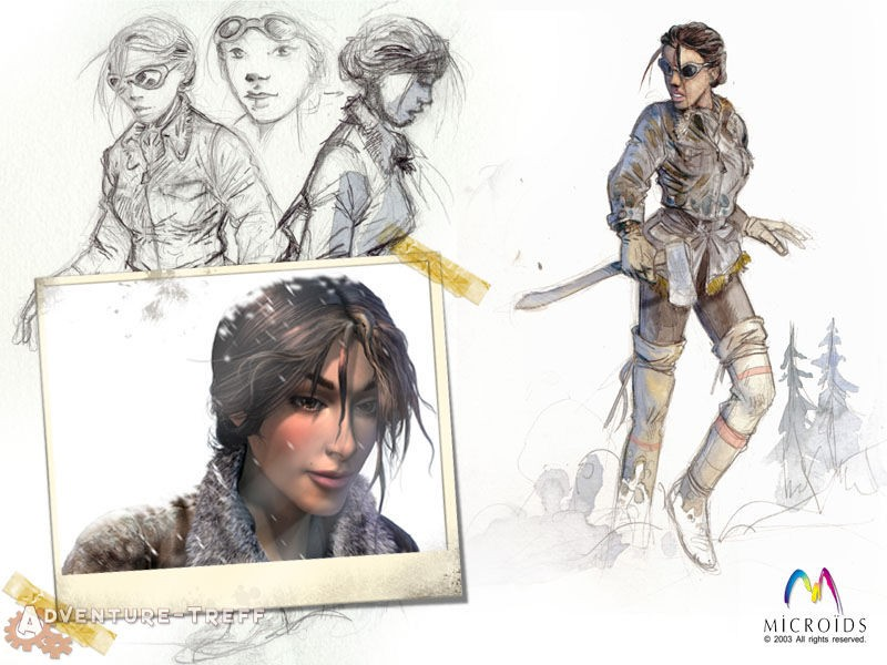 Syberia II Artworks