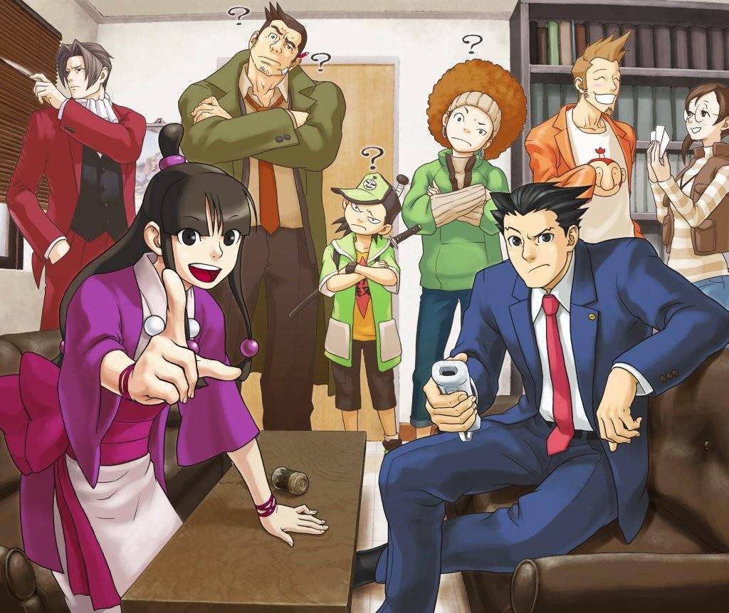Phoenix Wright: Ace Attorney (Wii) (Artworks)