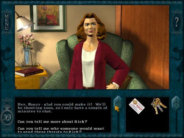 Nancy Drew 2 - Stay Tuned for Danger