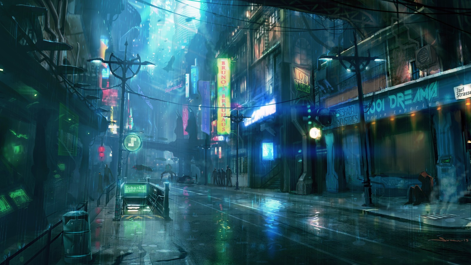 Dreamfall Chapters (Artworks)