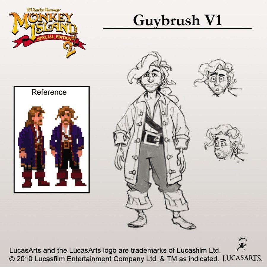 Monkey Island 2: LeChucks Revenge SE (Artworks)
