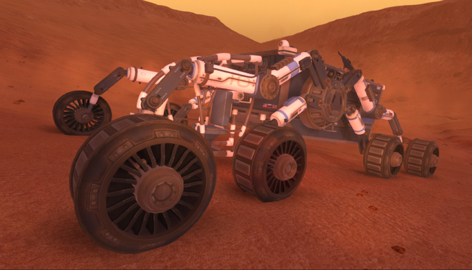 Lacuna Passage: Mars Exploration and Survival