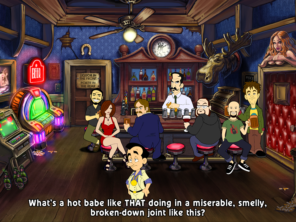 Leisure Suit Larry 1 Reloaded
