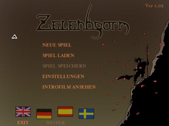 Zelenhgorm - Land of the Blue Moon