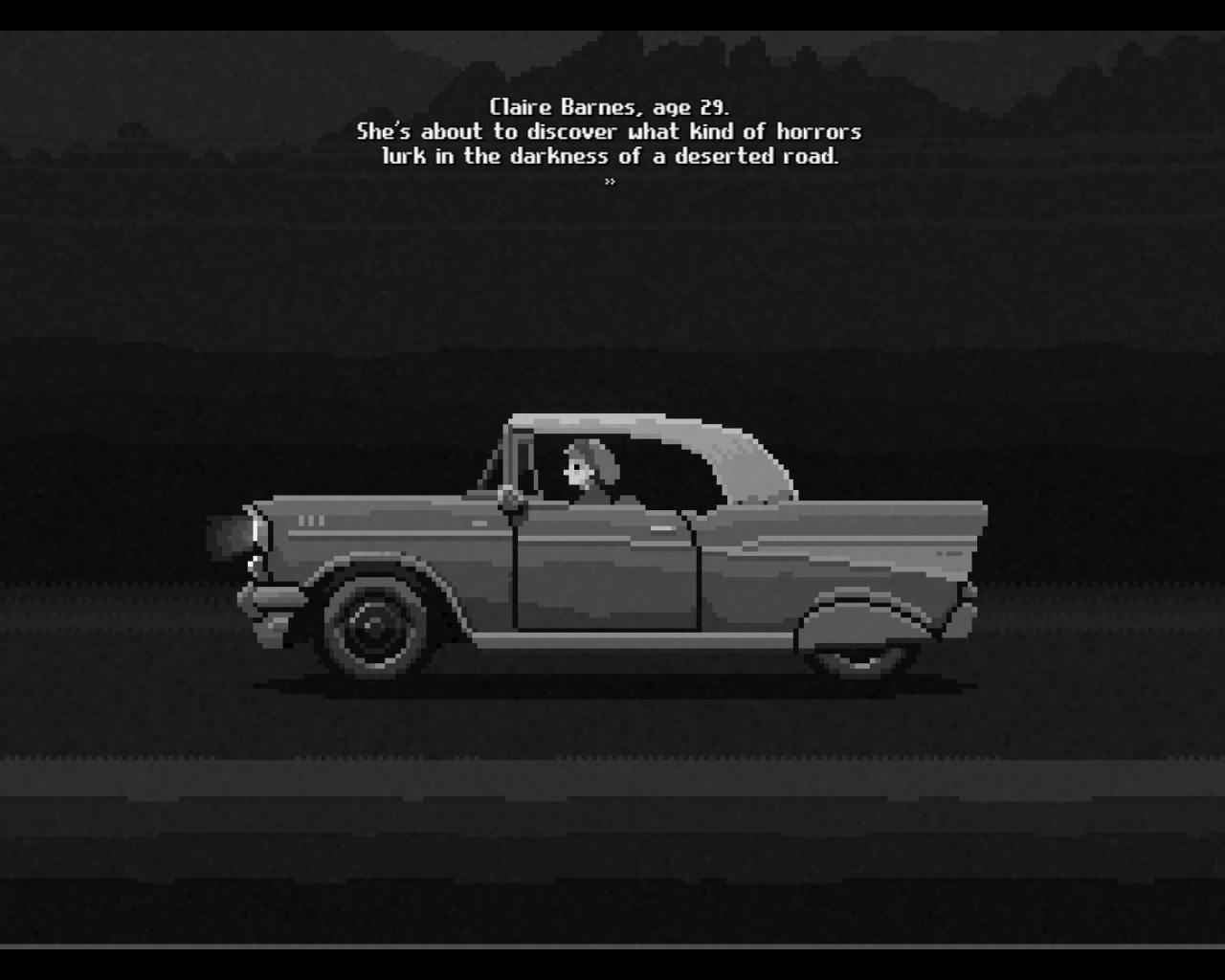 Midnight Scenes: The Highway