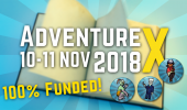 AdventureX: Kickstarter-Kampagne mit Tickets gestartet