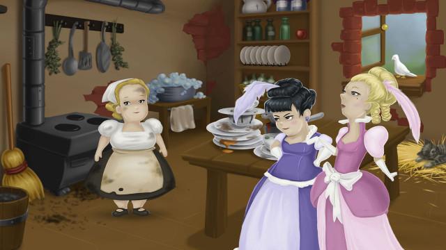 Aschenputtel  - ein interaktives Märchen