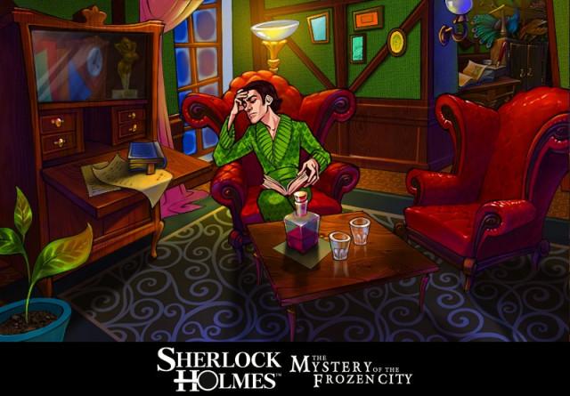 Sherlock Holmes - Geheimnis der gefrorenen Stadt