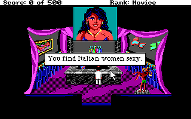 Leisure Suit Larry 2 - Goes Looking for Love (In Several Wrong Places)