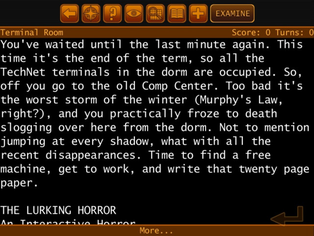 The Lurking Horror