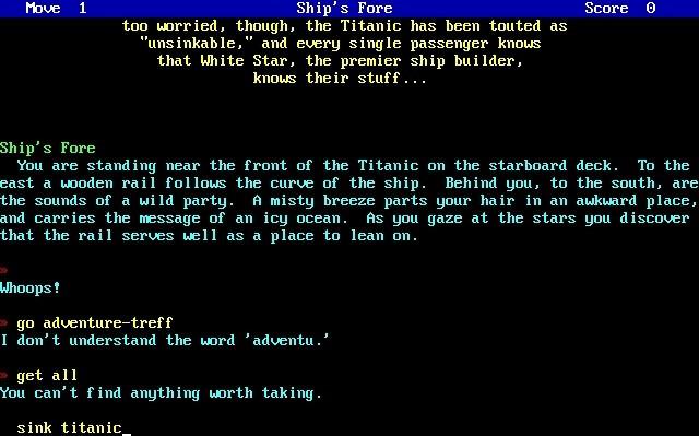 Beyond the Titanic