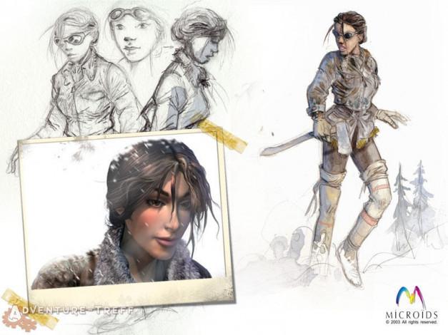 Syberia II Artworks