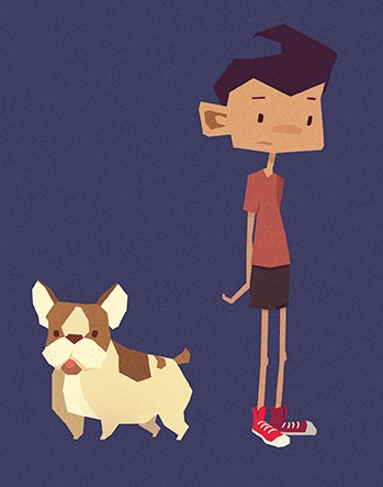 Jenny Le Clue - A Handmade Adventure Game (Artworks)